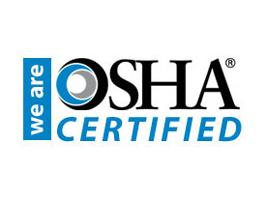 OSHA Certified Company