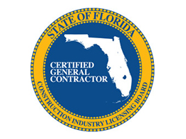 Certified General Contractor of State of Florida