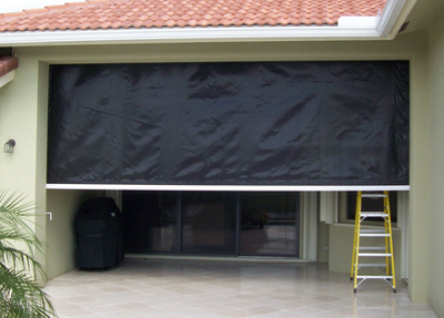 Hurricane Fabric Screens in Fort Myers